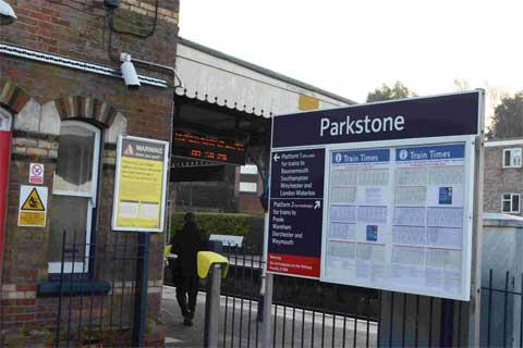 Parkstone railway station brawl case is dropped