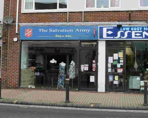 BREAK-IN: The Salvation Army Charity Shop on Lymington Road in Highcliffe.