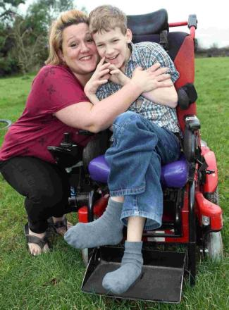 Victory: mum wins £7.1m payout for son left disabled by hospital
