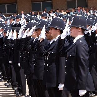 HAVE YOUR SAY: Starting salary for police officers to be cut to £19,000