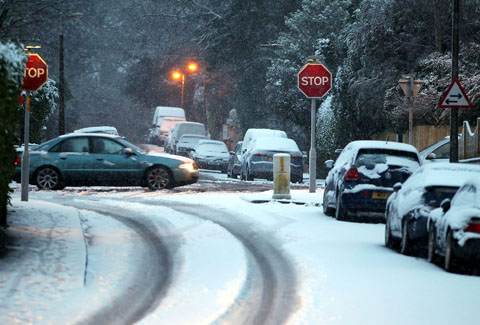 Snow not likely for Dorset this week but watch out for ice