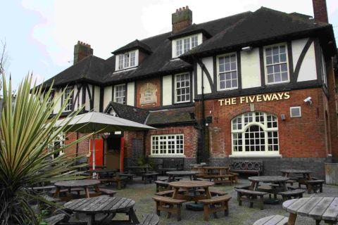 Marston's long list of local pubs includes the Fiveways at Charminster