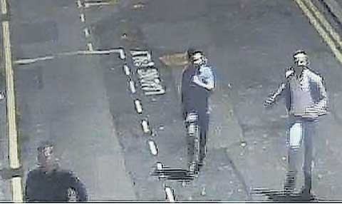 Do you recognise men wanted over assault in Bournemouth town centre?