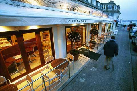 Cafe Shore in liquidation - but it's still trading