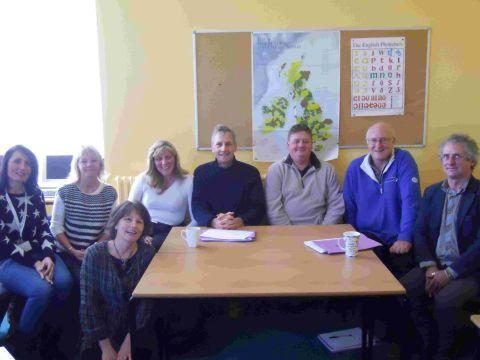 VISIT: South Dorset MP Richard Drax with members of Confident for Work, which is run by Rethink Mental Illness in Weymouth