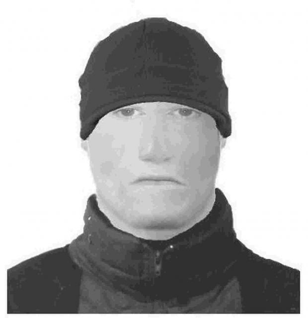 The efit of the robber released by police