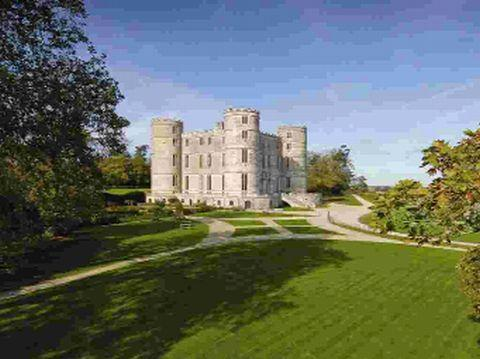 Bournemouth Echo: PIECE OF HISTORY: Lulworth Castle as it is today