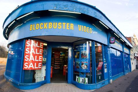 Blockbuster to close a further 164 stores