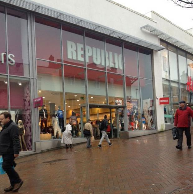 The Republic store in Bournemouth town centre