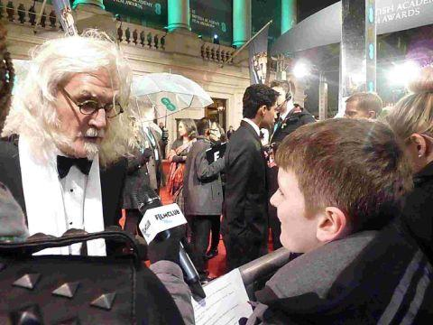 BIG YIN: Luke Beer interviewing BIlly Connolly