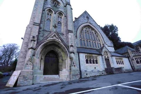 SANCTUARY: St Andrew's Church on St Stephen's Road