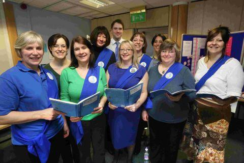 IN TUNE: The Royal College of Midwives' Community Choir at Poole Hospital