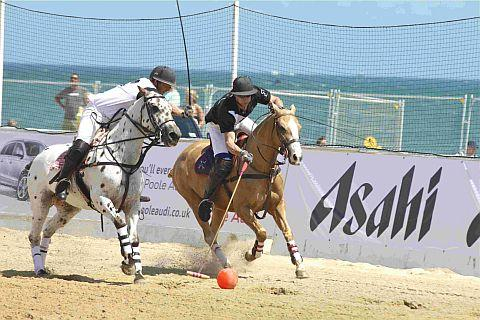 ACTION: The British Beach Polo Championships are returning to Sandbanks