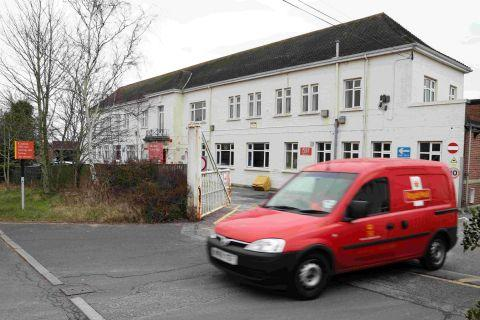 GOING POSTAL: The Royal Mail Alder Hills Delivery Office in Poole