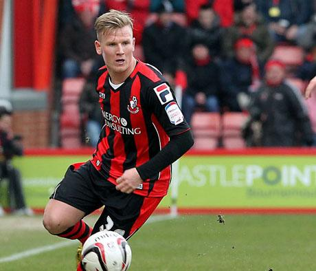 WING WIZARD: AFC Bournemouth's Matt Ritchie