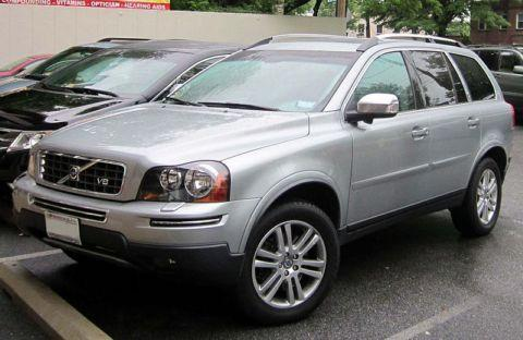 A Volvo XC90 similar to the one involved in the crash in which Jade Clark died