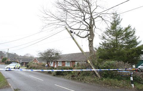 UPDATED: Road closed after Alderholt crash