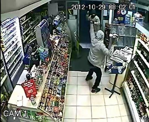 CCTV: The store confrontation