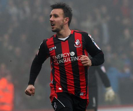 LOANED OUT: AFC Bournemouth striker Matt Tubbs