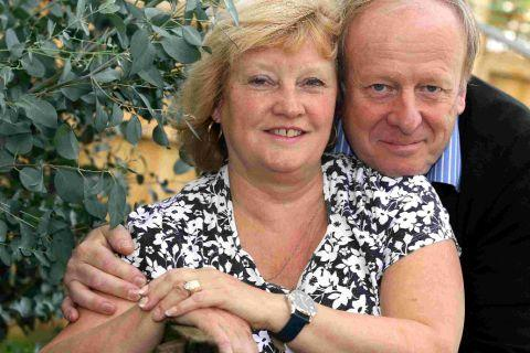 high hopes: Paul and Jo Dunn want to set up a Zoe's Wish charity shop in memory of their daughter