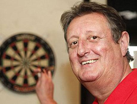 CRAFTY COCKNEY: Darts legend Eric Bristow
