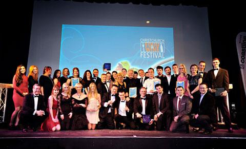 The winners at the Best of the Best Awards 2013