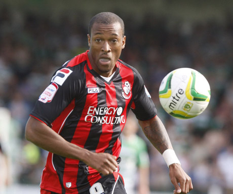 MOVING ON: AFC Bournemouth striker Wes Thomas