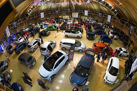 Car show at the BIC is a roaring success
