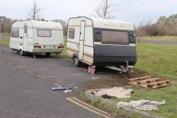Travellers force cancellation of Dorset Boat Jumble