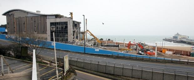 Imax demolition: half down, half to go - but it will take longer than expected