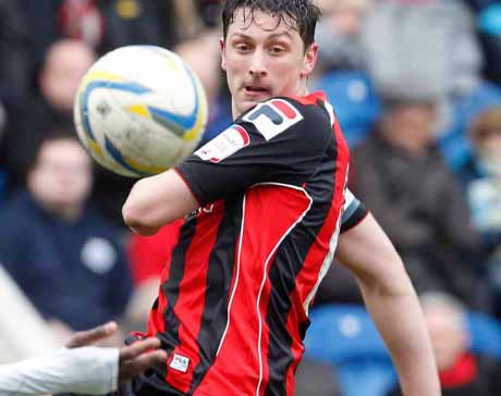 CAPTAIN: AFC Bournemouth's Tommy Elphick