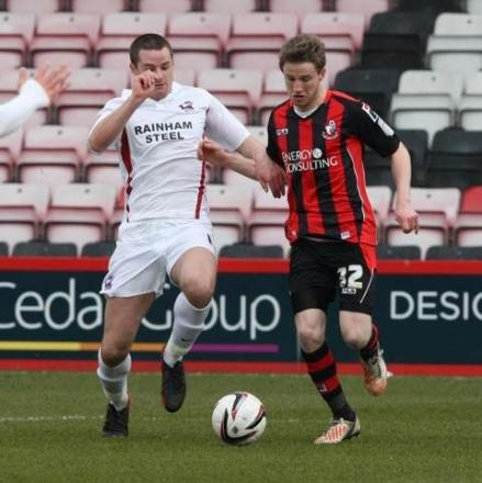 ENCOURAGED: Cherries star Eunan O'Kane
