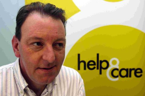READY TO DELIVER: Chief executive of Help and Care, Mark Sharman