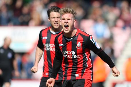ON TARGET: Matt Ritchie opened the scoring against FC Copenhagen