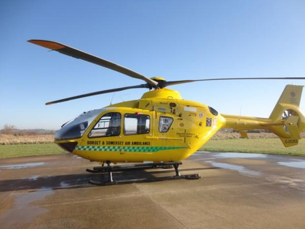 Air ambulance called after man collapses in West Lulworth