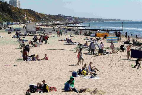 Bournemouth and Poole beaches achieve Blue Flag status once again