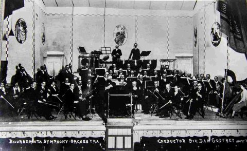 Image result for orchestra bournemouth black and white
