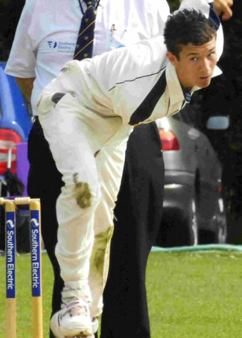 DEFIANT: Bashley's former Hampshire Academy man Jake Lilley