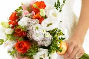 Follow your nose when choosing wedding flowers