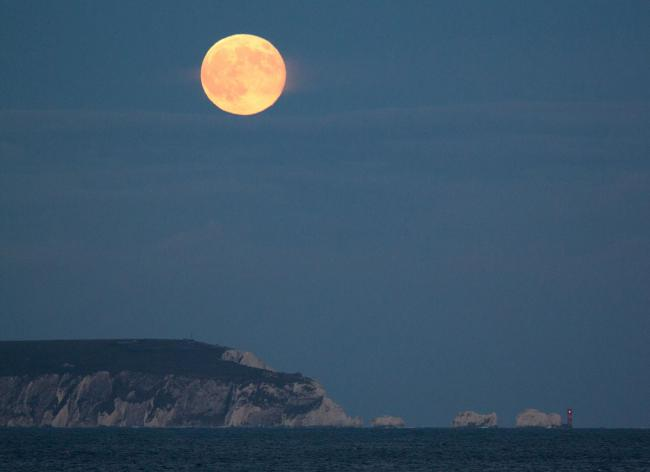 The 2013 Supermoon, picture by Brian Dempsey.
