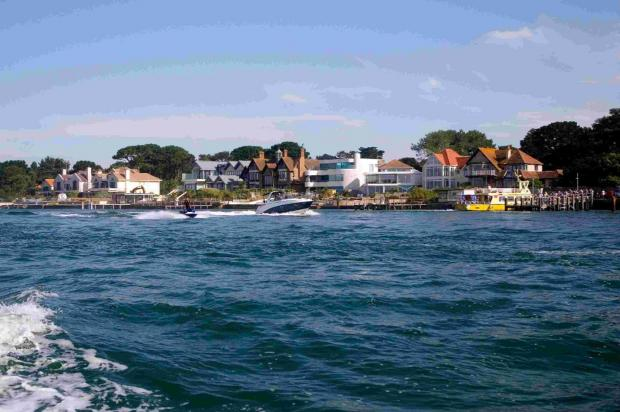NICE SPOT: Harbourside at Sandbanks