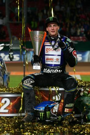 BACK ON THE ROSTRUM: Poole Pirates star Darcy Ward