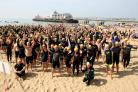 Record turnout for Bournemouth's Pier to Pier swim