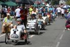 A wheelie good time had by all at New Milton pedal car grand prix