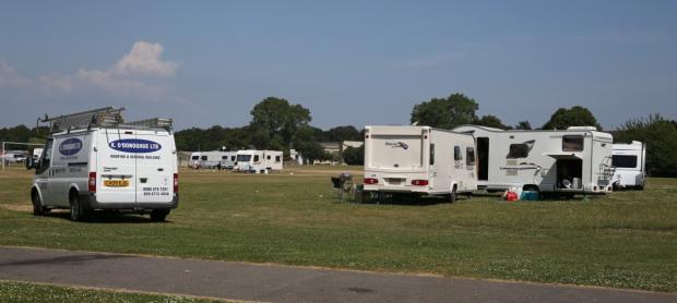 Travellers at Turlin Moor