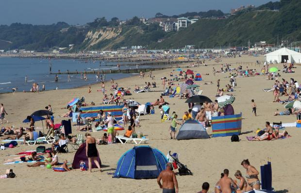 Hello sunshine! Temperatures set to hit 20C in Bournemouth this weekend