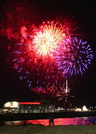 Friday night fireworks are back with a bang