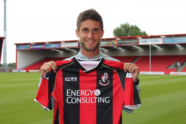 LOAN STAR: AFC Bournemouth's Andrew Surman