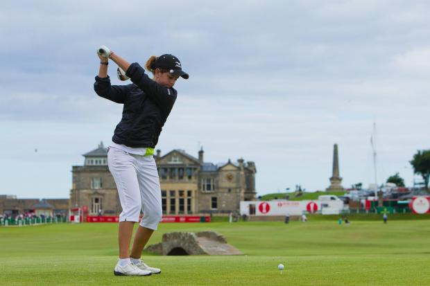 TOP AMATEUR: Parkstone's Georgia Hall at last year's Women's British Open.