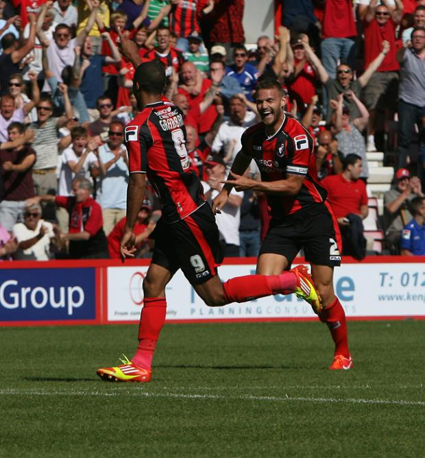 Bournemouth Echo: See all our pictures from AFC Bournemouth's first game of the season in the Champsionship against Charlton at the Goldsands Stadium on August 3, 2013